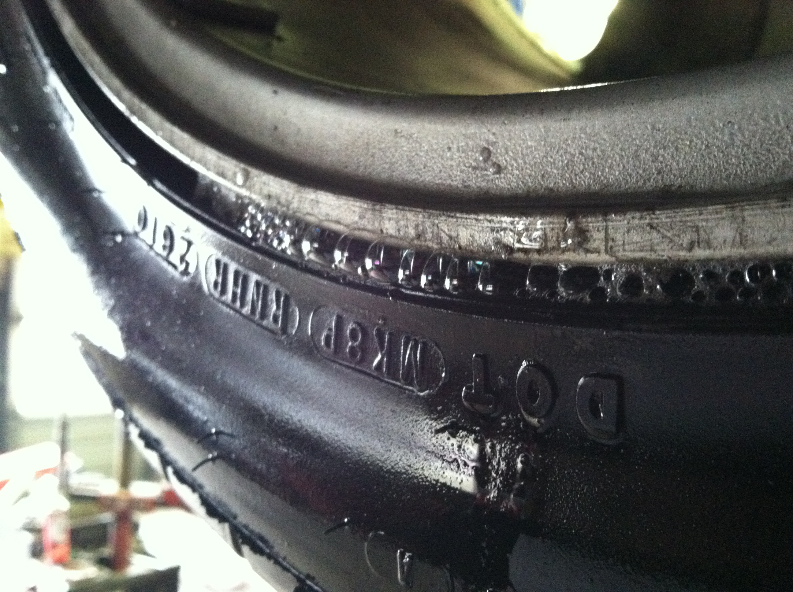 tpms light     find  leak   tires read